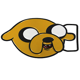 Adventure Time Jake Belt Yellow Buckle Clothing