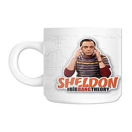 The Big Bang Theory Sheldon White TBBT Mug Home - Tableware
