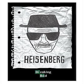 Breaking Bad Gloss Black Framed Heisenberg Wanted Poster Maxi Poster 61x91.5cm Posters