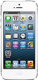 Apple iPhone 5 White 32GB Unlocked B Phones
