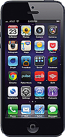 Apple iPhone 5 Black 32GB Unlocked B Phones