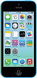 Apple iPhone 5C Blue 8GB Unlocked B Phones