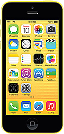 Apple iPhone 5C Yellow 8GB Unlocked B Phones
