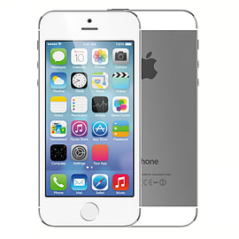 Apple iPhone 5S Silver 16GB Unlocked A Phones