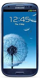 Samsung Galaxy S3 Pebble Blue Vodafone A Phones