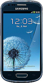 Samsung Galaxy S3 Mini Blue Unlocked B Phones
