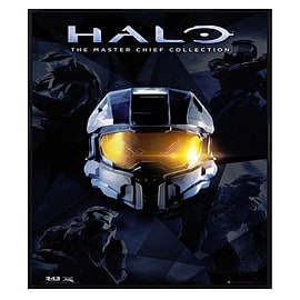 Halo Gloss Black Framed The Master Chief Collection Maxi Poster 61x91.5cm Posters