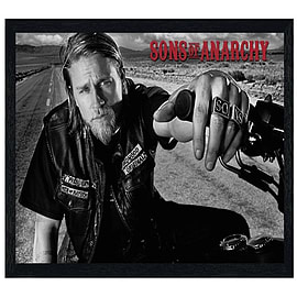 Sons of Anarchy Black Wooden Framed Jackson SoA Maxi Poster 91.5x61cm Posters