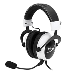 Kingston Hyper X Cloud Gaming Headset (White) Accessories