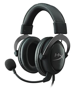 Kingston Hyper X Cloud II Pro Gaming Headset (Gun Metal) Accessories