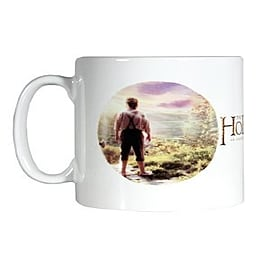 The Hobbit Circle White Mug Home - Tableware