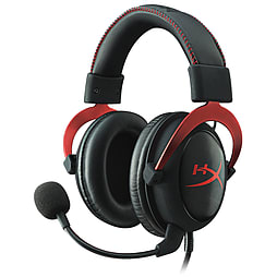Kingston Hyper X Cloud II Pro Gaming Headset (Black/Red) Accessories