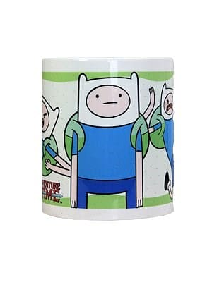 Adventure Time Finn White Mug screen shot 1