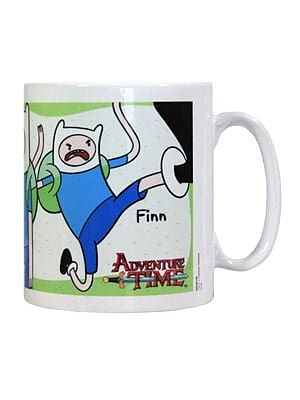 Adventure Time Finn White Mug screen shot 2