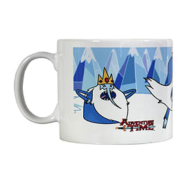 Adventure Time Ice King White Mug Home - Tableware