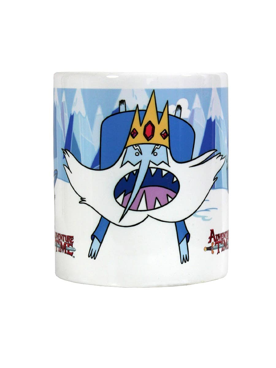 Adventure Time Ice King White Mug screen shot 1
