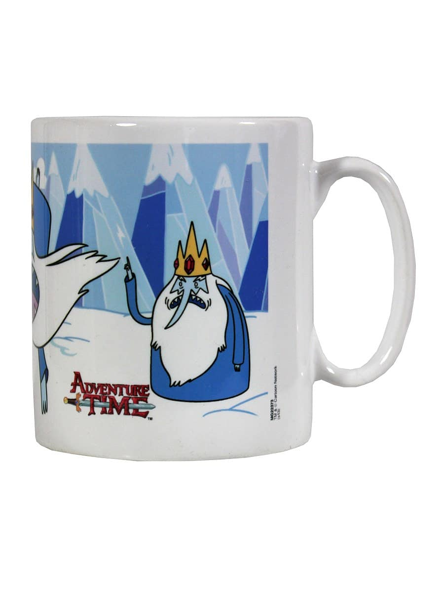 Adventure Time Ice King White Mug screen shot 2