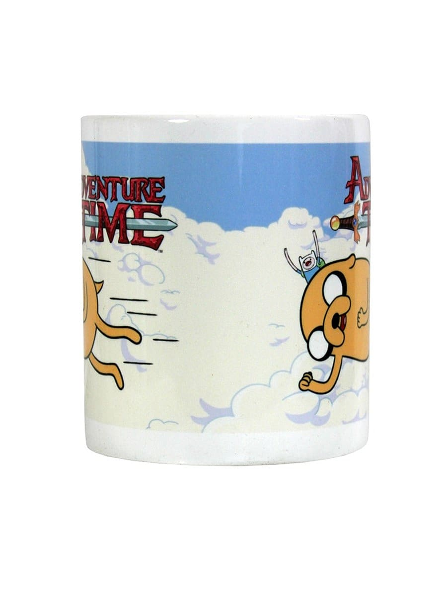 Adventure Time Flying Friends White Mug screen shot 1