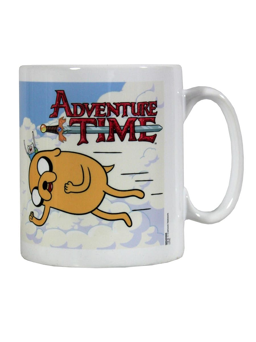 Adventure Time Flying Friends White Mug screen shot 2