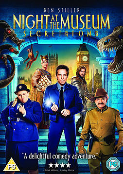 Night at the Museum 3: Secret of the Tomb DVD