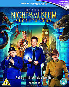 Night at the Museum 3: Secret of the Tomb Blu-ray