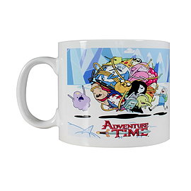 Adventure Time Ball of Fun White Mug Home - Tableware