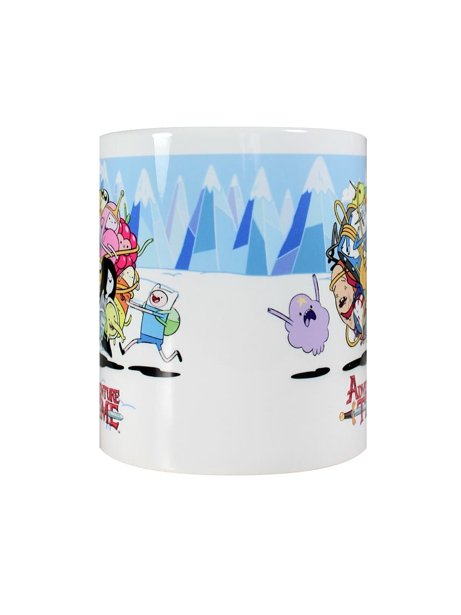 Adventure Time Ball of Fun White Mug screen shot 1