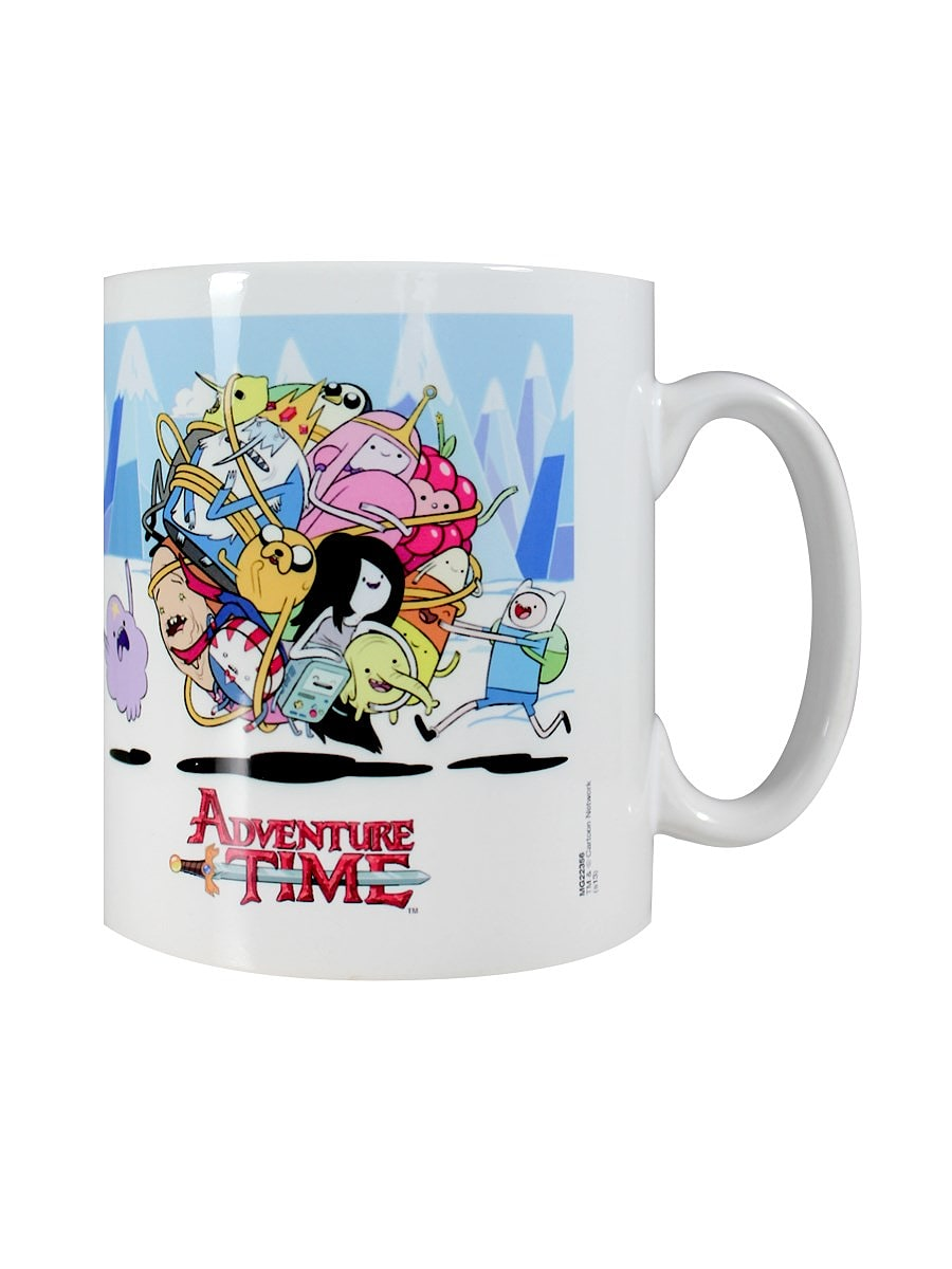 Adventure Time Ball of Fun White Mug screen shot 2