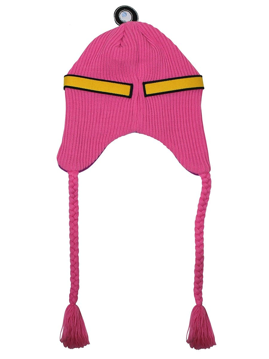 Adventure Time Princess Bubblegum Laplander Pink Beanie: One size Fits All screen shot 1