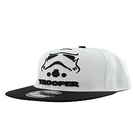 Star Wars Stormtrooper White Cap: One size Fits All Clothing