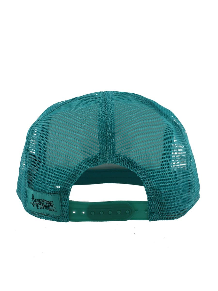 Adventure Time Beemo Trucker Snapback Turquoise Cap: One size Fits All screen shot 2