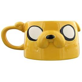 Adventure Time Jake Moulded Yellow Mug Home - Tableware