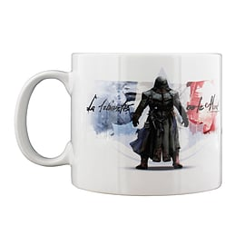 Assassins Creed Hooded White Mug Home - Tableware
