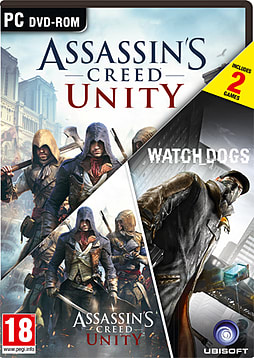 Assassin's Creed: Unity & WatchDogs Double Pack - Only at GAME PC Games