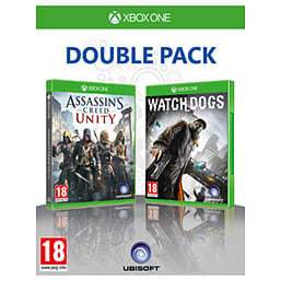 Assassin's Creed: Unity & WatchDogs Double Pack - Only at GAME Xbox One