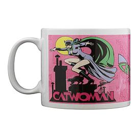 DC Comics Original Catwoman White Mug Home - Tableware