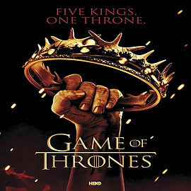 Game Of Thrones Five Kings One Throne Poster 61x91.5cm Posters