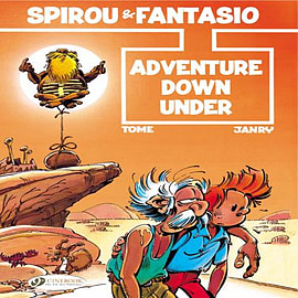 Spirou Vol.1: Adventure Down Under (Spirou & Fantasio) (Paperback) Books