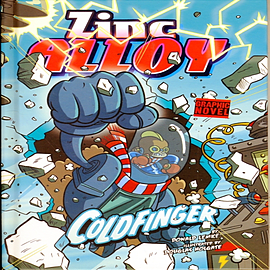 Zinc Alloy Coldfinger (Hardcover) Books