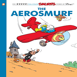 Smurfs 16:The Aerosmurf, The (Smurfs Graphic Novels) (Paperback) Books