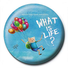 Adventure Time What Is Life Badge Badges