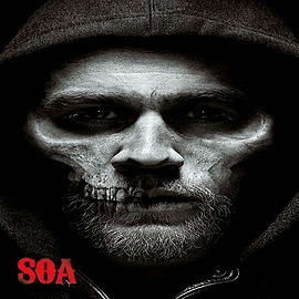 Sons of Anarchy Jax Skull SoA Poster 61x91.5cm Posters