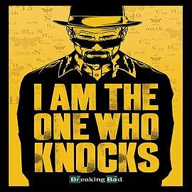Breaking Bad I Am The One Who Knocks Poster 61x91.5cm Posters