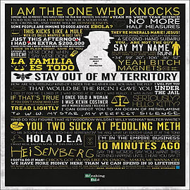 Breaking Bad The Many Sayings of Walter White Poster 61x91.5cm Posters