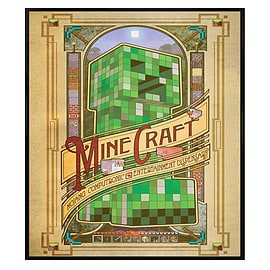Minecraft Gloss Black Framed Mojang Computronic Entertainment Dispensary Maxi Poster 61x91.5cm Posters