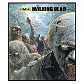 The Walking Dead Gloss Black Framed Zombie Hordes Maxi Poster 61x91.5cm Posters