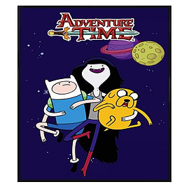 Adventure Time Gloss Black Framed Marceline Maxi Poster 61x91.5cm Posters
