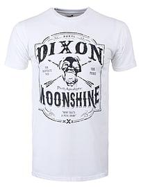 The Walking Dead Dixon Moonshine White Men's T-shirt: Medium (Mens 38 - 40) Clothing