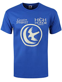 Game of Thrones As High As Honor Arryn Blue Men's T-shirt: Small (Mens 36 - 38) Clothing