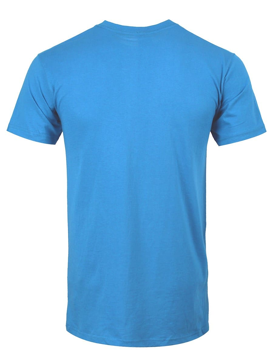 Adventure Time Finn Faces Blue Men's T-shirt: Large (Mens 40- 42) screen shot 1